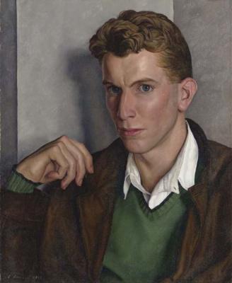 Luigi Lucioni. Portrait