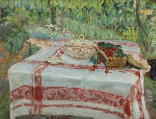 Pierre Bonnard. Still life with cherries