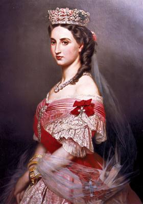 Franz Xaver Winterhalter. Charlotte of Belgium, Empress of Mexico