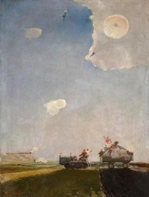 Георгий Григорьевич Нисский. Прыжок с парашютом