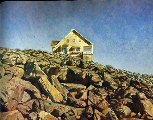 Jamie Wyeth. The House Of Kent