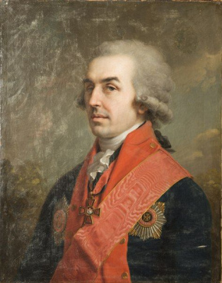 Vladimir Lukich Borovikovsky. Peter Ivanovich Novosiltsev