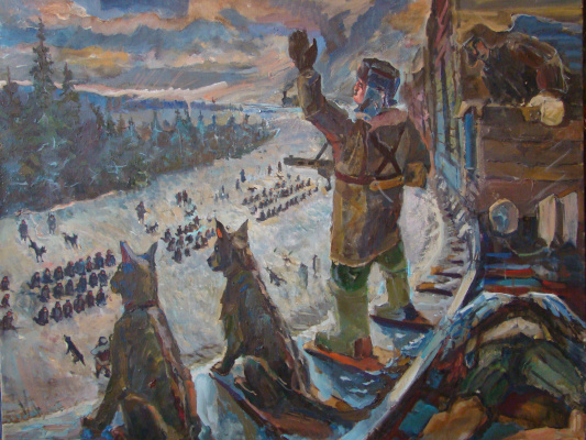 Александр Александрович Курушин. Отпущаюши