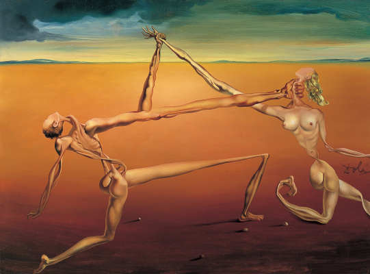 Salvador Dali. Dance (Rock and Roll)