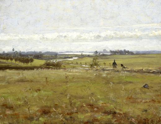 Ганс Андерсон Брендекилд. Раннее утро над болотом