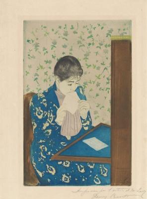 Мэри Кассат. Письмо