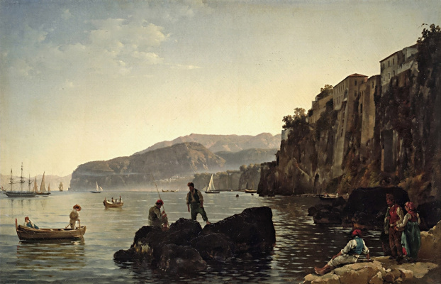 Sylvester Feodosievich Shchedrin. A small harbour in Sorrento