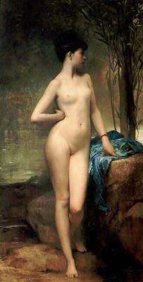 Jules Joseph Lefebvre. Chloe. 1875
