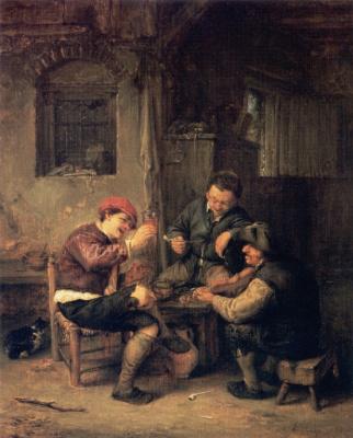 Адриан ван Остаде. Трактир