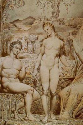 Уильям Блейк. Адам и Ева