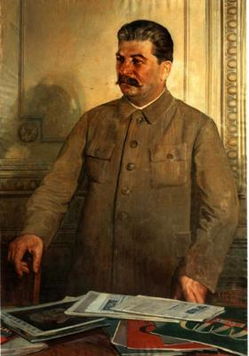 Исаак Израилевич Бродский. Сталин в Кремле