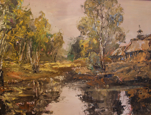 Love Sergeyevna Nikulina. Autumn