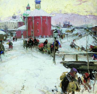 Абрам Ефимович Архипов. Зима. 1909