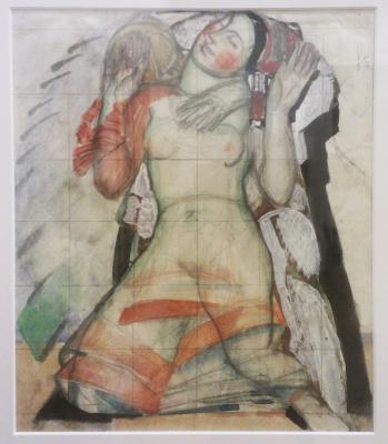 "Fedor Grigorievich Krichevsky. Sketch for the triptych ""Life"""