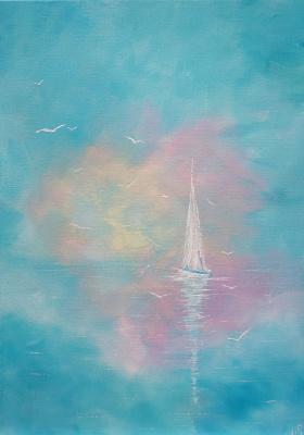 Irina Stukaneva. Sail. Air.