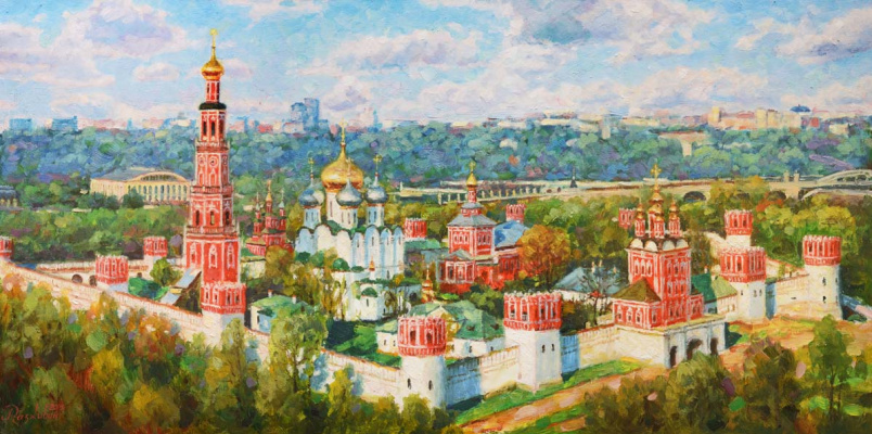 Igor Razzhivin. Greatness of the Novodevichy Convent