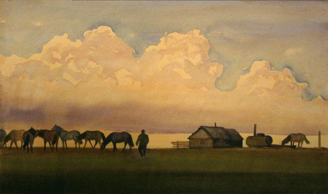 Balto Lyksokov. Pasture