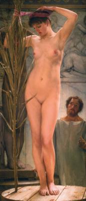 Lawrence Alma-Tadema. The Sculptor's Model