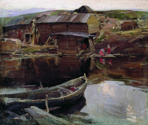 Abram Arkhipov. North village