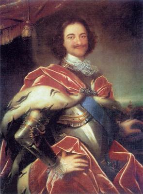 Иван Никитич Никитин. Портрет Петра I