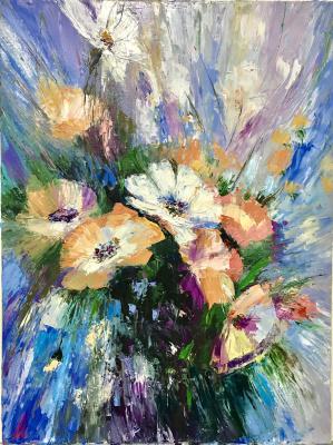 Svetlana Ivanova. Bouquet in a lilac haze