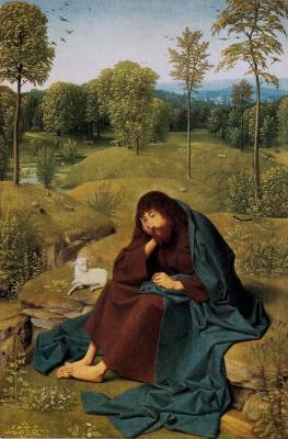 Янс Тот Синт Геертген. Святой Иоанн в пустыне