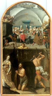 Unknown artist. The feast of Herod