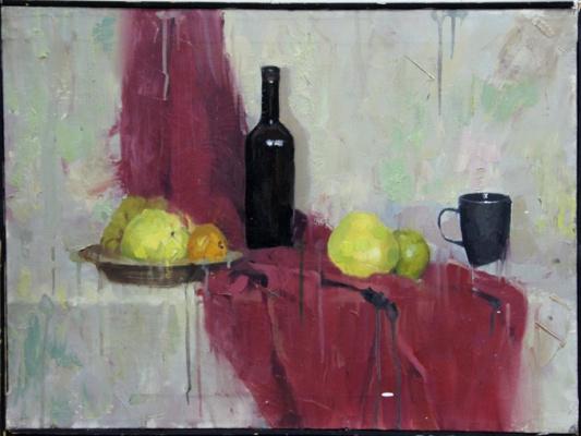 Alexander Isakov. Still life sketch