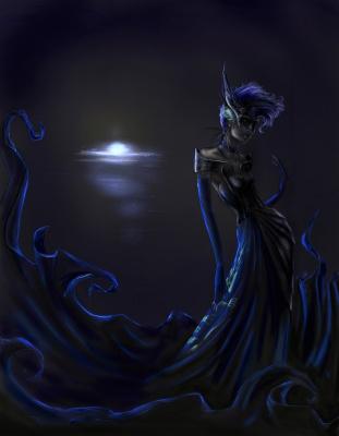 Брюс Грин. Синяя королева