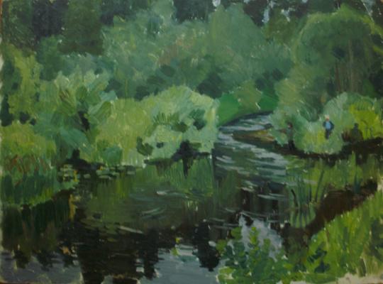 Nina Vasilievna Sedova. Backwater