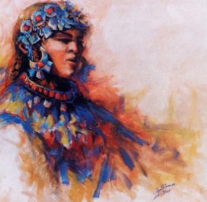 Самар Альбар Албадер. Танцовщица бедуинов, Ханан