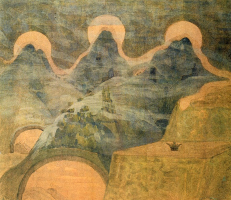 Mikalojus Konstantinas Ciurlionis. The final.Sonata of the serpent.
