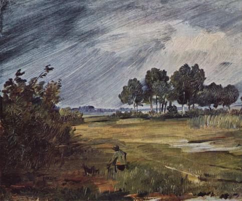 Пейзаж с дождем