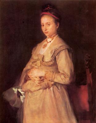 Вильгельм Мария Хубертус Лайбль. Портрет госпожи Гедон