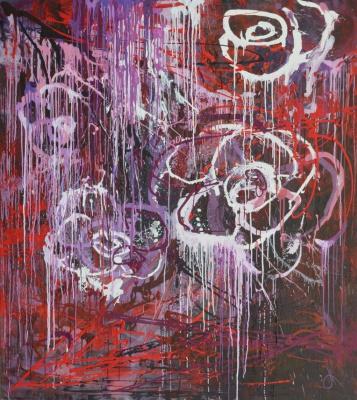 "Tanya Vasilenko. ""For you"", acrylic on canvas. For you. Acrylic on canvas."