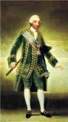Франсиско Гойя. Портрет испанского короля Карла III