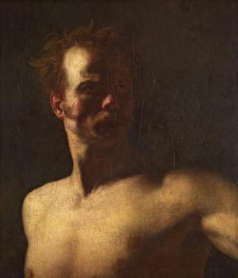 Théodore Géricault. A Study of a Sitter