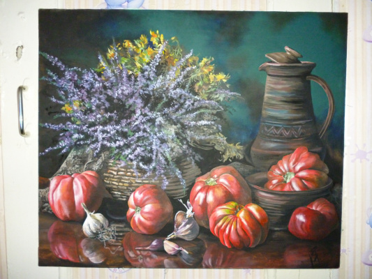 Hope Bogatyreva. Tomatoes is power