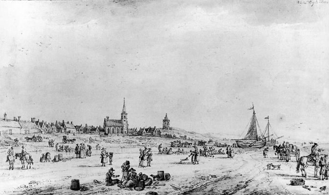 Паулюс Ла Фарг. Пляж