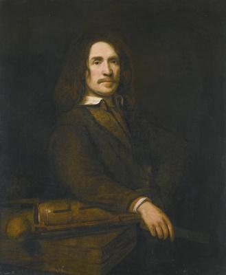 Самюэл ван Хогстратен. Портрет мужчины (возможно Каспара Кальтгофа)
