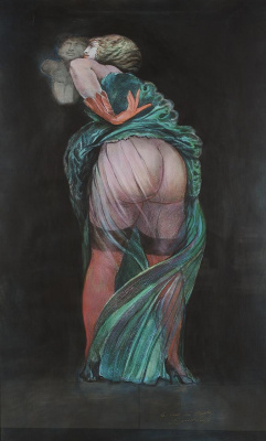 Ernst Fuchs. The ass of the world