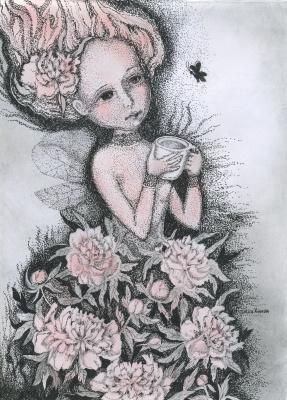 Olyona Ivanovna Koneva. Mrs. Peony