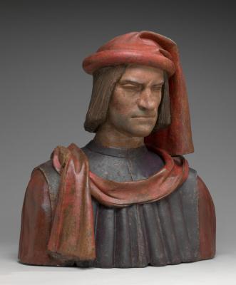 Андреа дель Вероккьо. Lorenzo de Medici