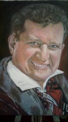 Alexander Nikolaevich Gorokhov. Portrait of a man