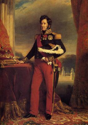 Франц Ксавер Винтерхальтер. Король Франции Луи-Филипп