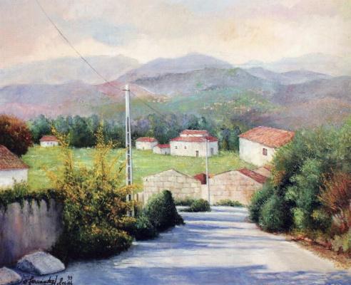 Карлос Фернандес Иглесия. Пейзаж