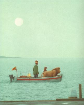 Квинт Бухгольц. В лодке