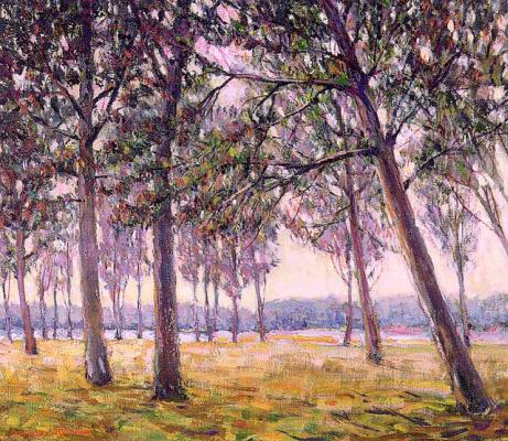 Август Данбир. Деревья