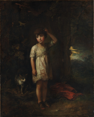 Thomas Gainsborough. Morning. Boy with cat