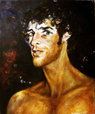 Silva Iosifovna Zalmanson. Portrait of a dancer